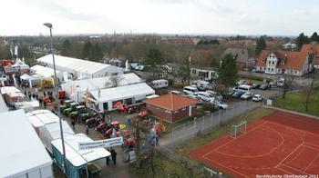 Blick auf das Ausstellungsgelände, Schützenhofplatz, 21635 Jork
